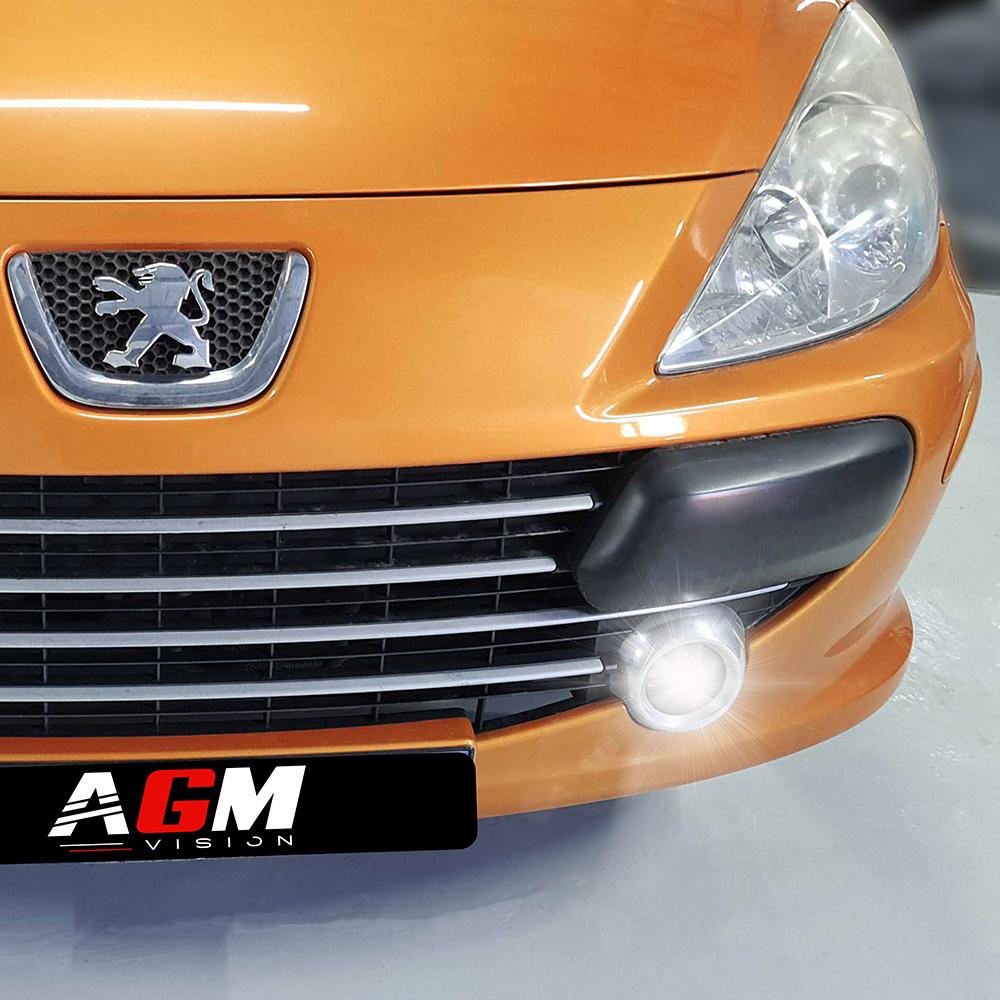 PACK LED (Standard) Antibrouillard Avant Peugeot 307 (avec ampoule H11)
