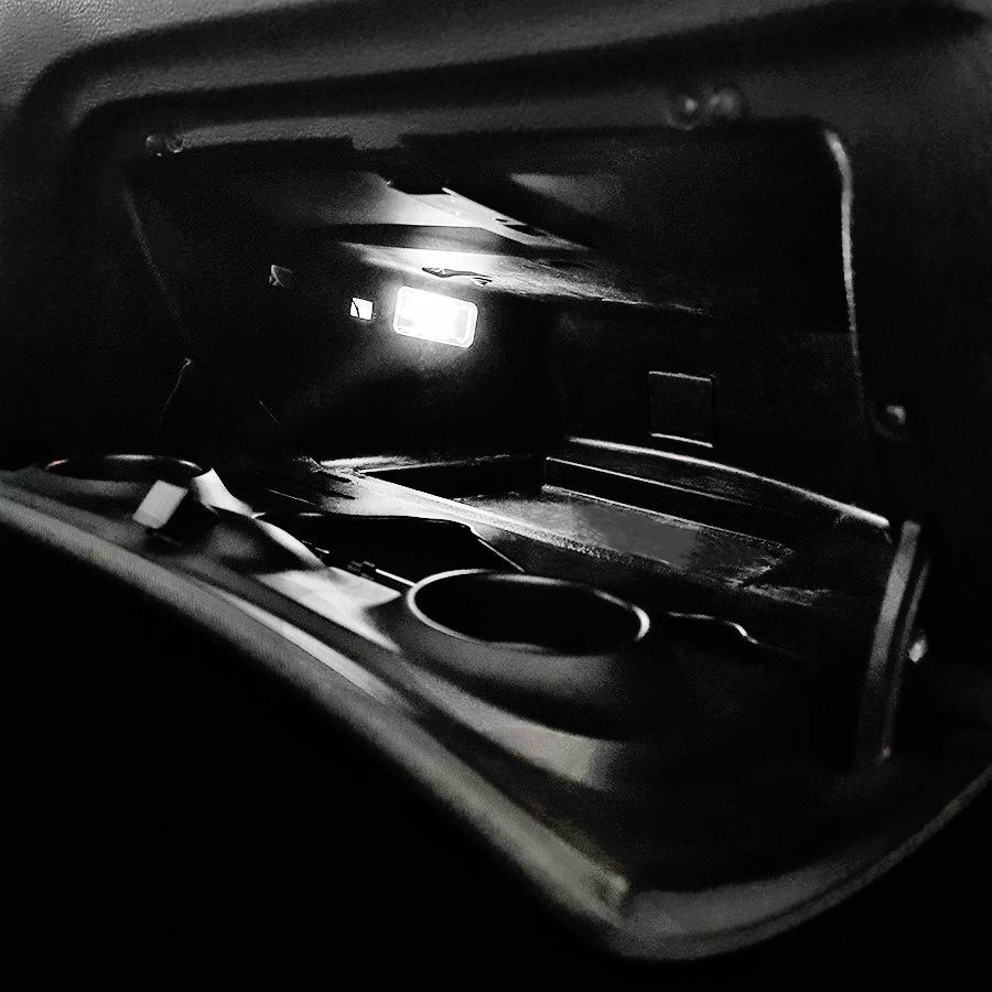 PACK LED (Standard) Boite à gant Peugeot 206