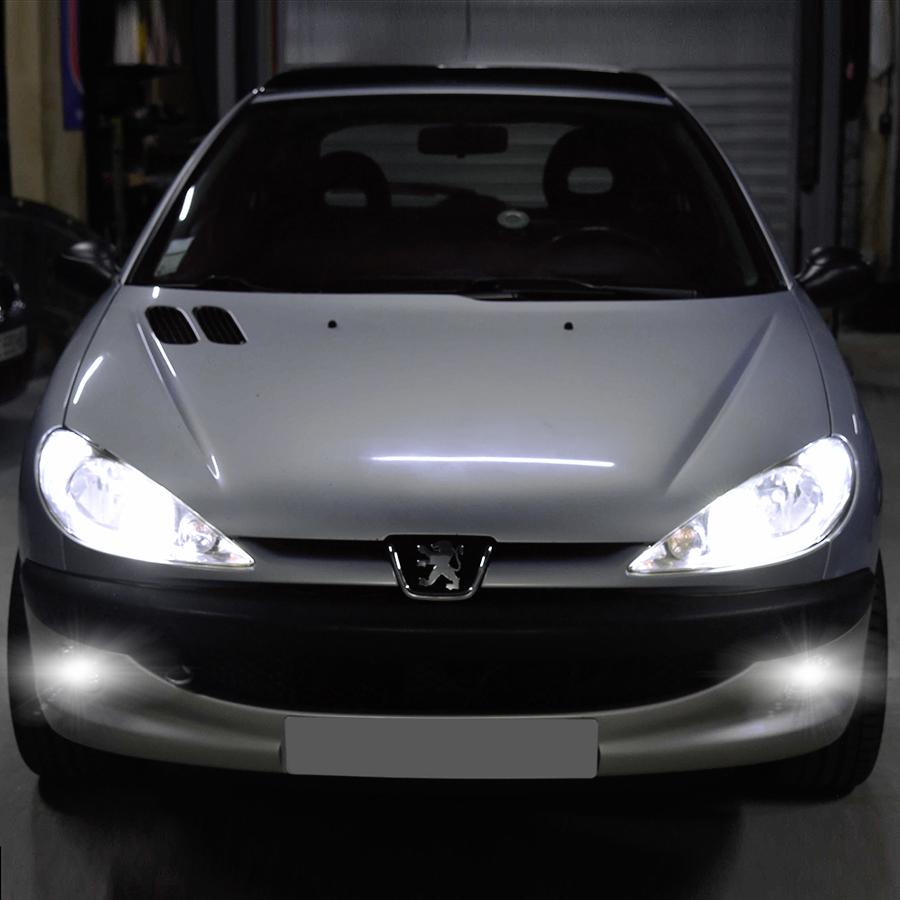PACK LED (Standard) Antibrouillard Avant Peugeot 206