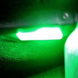 PACK LED (Couleur) Coffre Vert Peugeot 206
