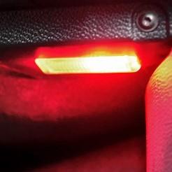PACK LED (couleur) Coffre Rouge Peugeot 206