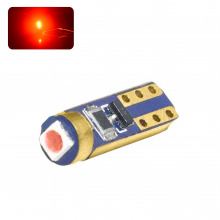 Ampoule LED T5-W1,2W ROYAL (Rouge)