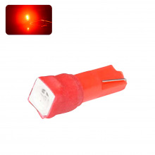 Ampoule LED T5-W1,2W EASY CONNECT (Rouge)