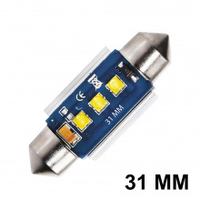 Navette LED C3W-C10W 31mm ELITE (Blanc)