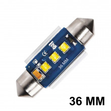 Navette LED C5W-C7W 36mm ELITE (Blanc)