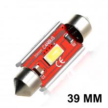 Navette LED C5W-C7W 39mm CORSA XR (Blanc)