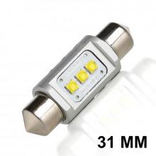 Navette LED C3W-C10W 31mm ENDURA GT (Blanc)