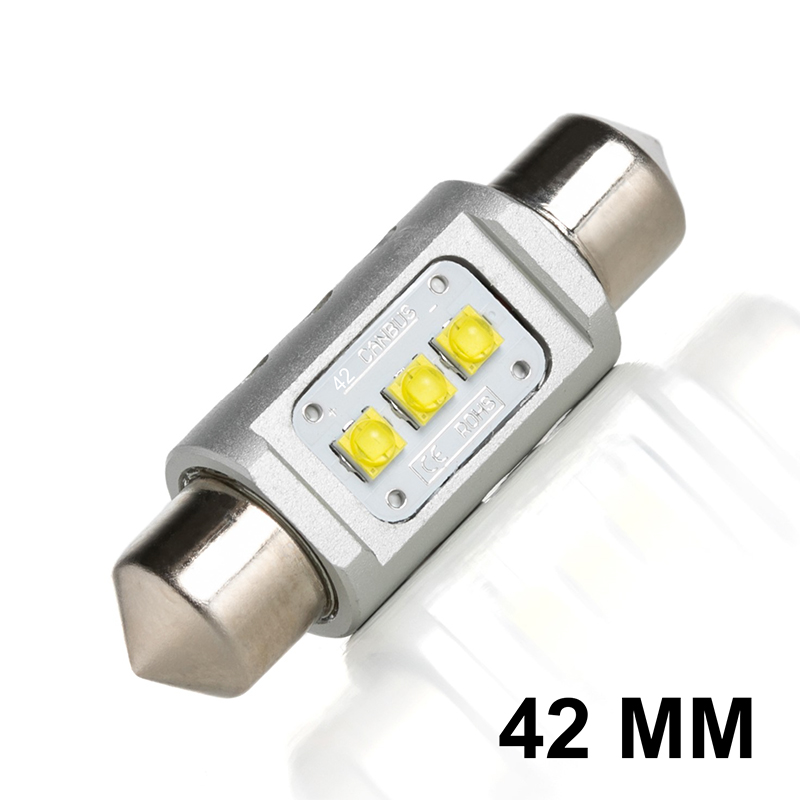 Navette LED C10W 42mm ENDURA GT (Blanc)