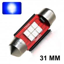 Navette LED-C3W-C10W-31mm-F12 (Couleurs)