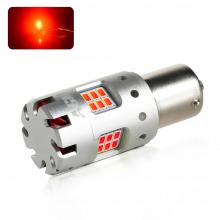 Ampoule LED P21W-BA15S VENTIRAD XS (Rouge)
