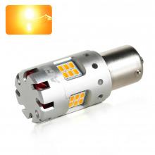 Ampoule LED P21W-BA15S VENTIRAD XS (Orange)