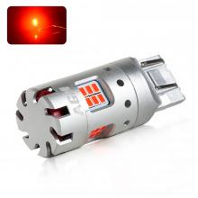 Ampoule LED W21/5W VENTIRAD XS (Rouge)