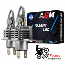 Kit Ampoules LED H4 SMART TURBO