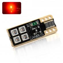 Ampoule LED T10-WR5W-W5W ROYAL SIDE (Rouge)