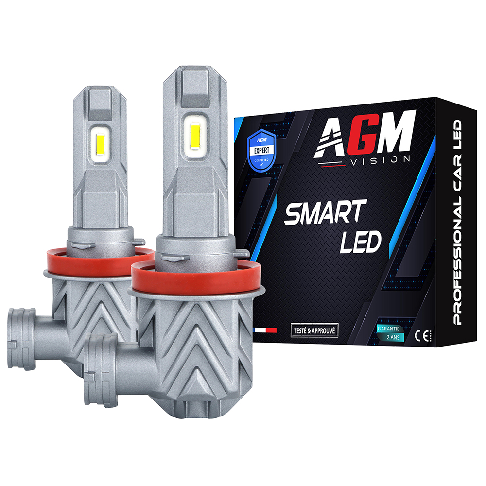 Kit Ampoules LED H8 SMART