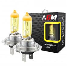 2 Ampoules halogène H7 55W JAUNE STORIC 2700K