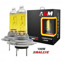 2 Ampoules halogène H7 100W JAUNE COMPETITION
