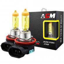2 Ampoules halogène H11 55W JAUNE STORIC 2700K