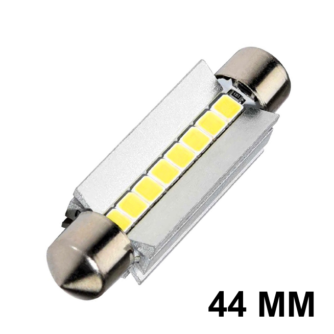 Navette LED-C10W-44mm-ULTRA (Blanc)