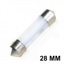Navette LED-C3W-28mm-ANGEL (Blanc)