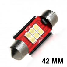 Navette LED-C10W-42mm-F12 (Blanc)