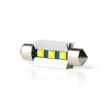 Navette LED-C3W-C10W-31mm-Supreme (Blanc)