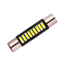 Navette LED-T6-31mm-SLIM XS (Blanc)