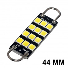 Navette-Crochet LED-44mm-SMART (Blanc)