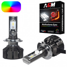 Kit Ampoules LED H7 MULTICOLORE
