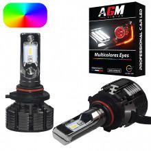 Kit Ampoules LED HB3 9005 MULTICOLORE