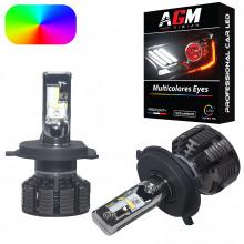 Kit Ampoules LED H4 MULTICOLORE