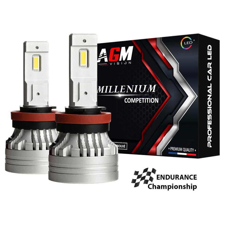 Kit Ampoules LED H11 MILLÉNIUM COMPÉTITION