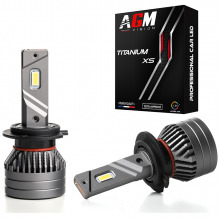 Kit Ampoules LED H7 TITANIUM XS