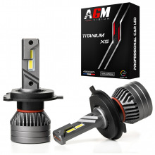Kit Ampoules LED H4 TITANIUM XS