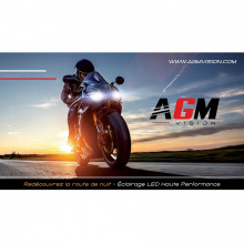 Affiche Eclairage LED MOTO