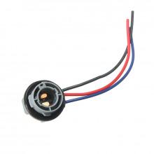 Connecteur femelle pour ampoule P21/5W BAY15D
