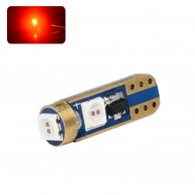Ampoule LED T5-W1,2W SUPRÊME ROYAL (Rouge)