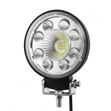PHARE ADDITIONNEL LED ROND DISPERSION 35W
