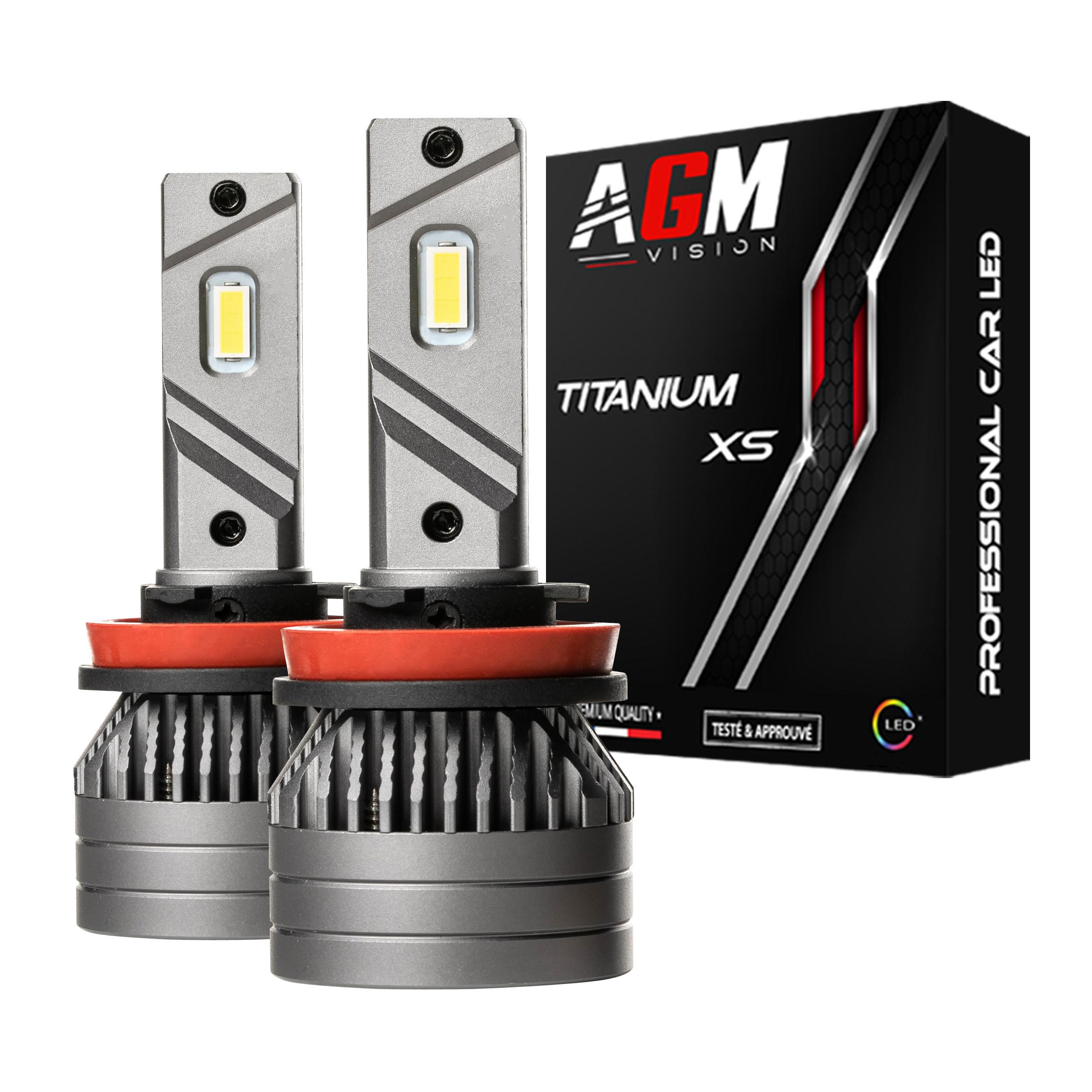 Kit LED H9B TITANIUM XS