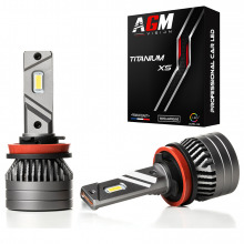 Kit Ampoules LED H9 TITANIUM XS