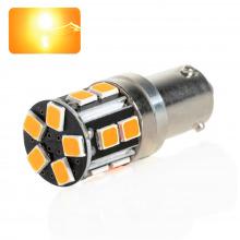 Ampoule LED HY21W-BAY9S SUPREME (Orange)