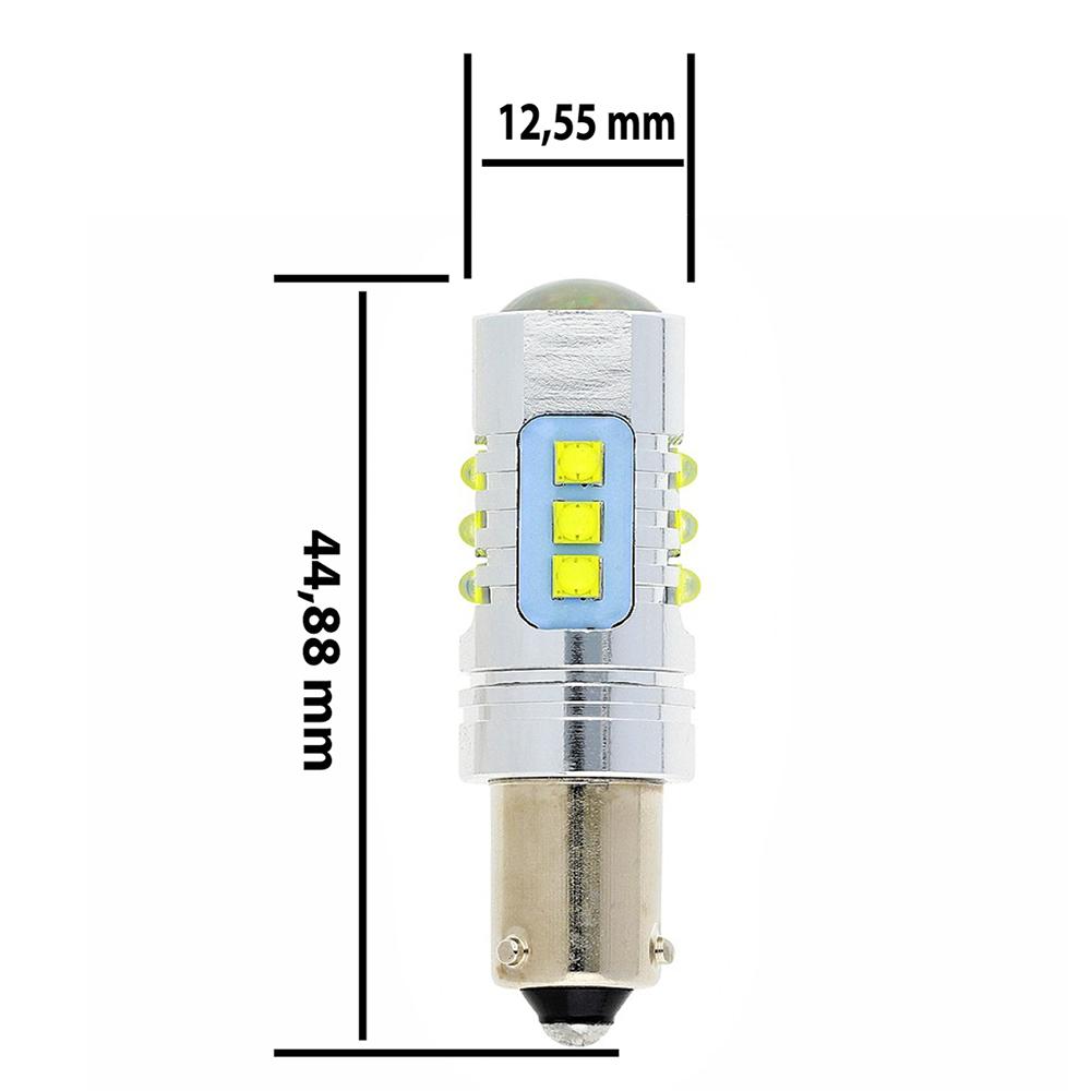 Ampoule LED H21W-BAY9S ULTRA (Blanc)