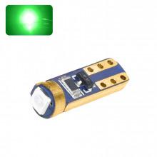 Ampoule LED T5-W1,2W ROYAL (Vert)